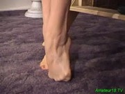 Flexible amateur fucked hard