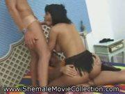 Shemale cum orgies!