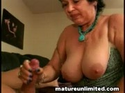 Mature taste of sperm......
