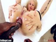 Sarah Vandella Ass Plowed by Black Dick POV