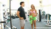 Nice titted capri cavalli seduces her trainer and gets a pri