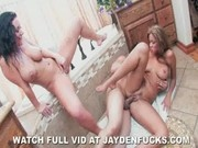 Jayden Jaymes and Isis Taylor 3 Way in the Bath