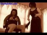 Flogged Lesbian Fatty