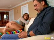 Pretty Elizabeth teaches her husband Carrasco about slamming