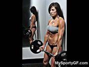 Sexiest muscular gfs!