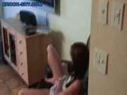 Playfull teen gets fingered