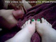 Neon toe dreams