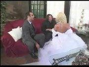 Hot Threesome Fuck With A Horny Bride