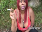 Nilou Achtland-Smoking Down Blouse 1