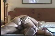 Couple making love in hotel