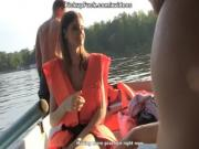 Three men in a boat to say nothing of a pick up girl scene 1