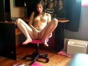 Sslut ex-fiance on webcam