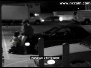 Security Camera Captures Blowjob on Car