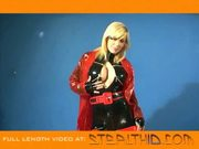Latex starlet - holly sampson