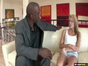 BrokenTeens - Big Black Cock Vs Teen Stepdaughter