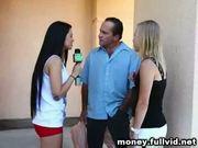 Money talks stunt