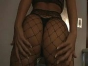 Nicole Austin Coco in Fishnets