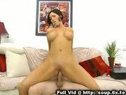 Busty milf mounted fuck