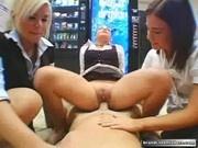 Schoolgirls Orgy with the Teacher