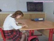 Young-school-girl