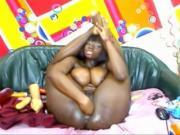 Ebony Karina anal
