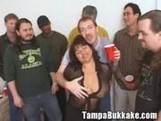 Susie's Gang Bang Bukkake Party