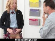 InnocentHigh - Schoolgirl Caught With No Panties