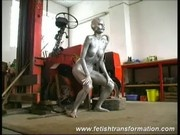 Crazy fetish transformation