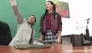 Latina ashli licked and fucked by her professor