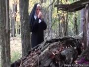 smoking nun fucked by devil