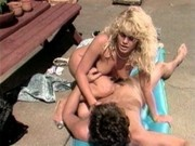 Retro Blonde Sex