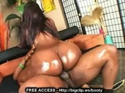 Black Girl Riding Shaft