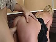 blonde suck cock