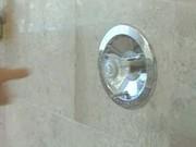Rene larue - busty shower finger play