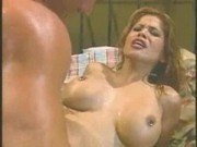 Alexis Amore sucks cock, then gets titty