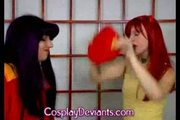 Cosplay deviants - asuka and misato ( homemade - www.freetap