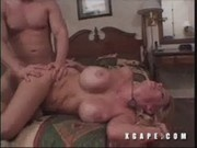 Tan Blonde Gets Anal