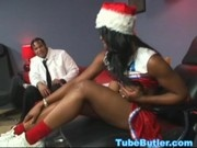 Black miss Santa WM