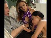 Kimmy kahn and roxy jezel in a foursome