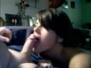 Sister Blowjob for Brother