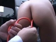 Pure glycerin enema for curious teen