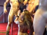 monster cock threesome public