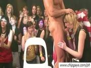 Drunk girls in orgy