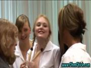 Cfnm schoolgirls humiliate loser