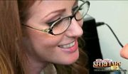 Sexy redhead nikki rhodes is an expert with cock