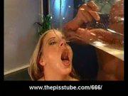 Bizarre pee drinking orgy