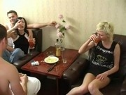 Drunk russian students