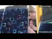 Cell cam catches bj in public bus