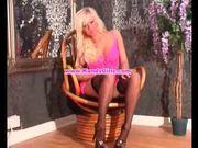 Sexy morgan does a seductive strip for kandygirlz.com