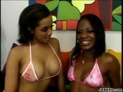 Hot Lesbian Scene With Horny Alicia And Jasmine